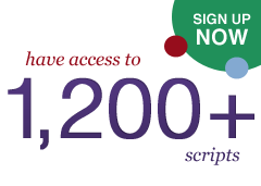 Members have access to 1,200+ scripts. Sign up here.