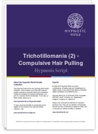 Trichotillomania (2) - Compulsive Hair Pulling
