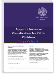 Appetite Increase Visualization for Older Children