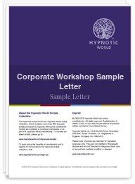 Corporate Workshop Sample Letter