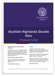 Scottish Highlands Double Dice