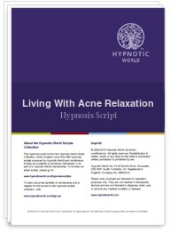 Living With Acne Relaxation