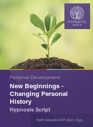New Beginnings - Changing Personal History