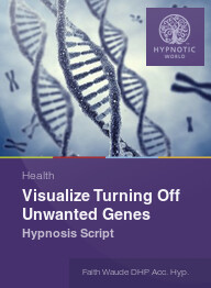 Visualize Turning Off Unwanted Genes