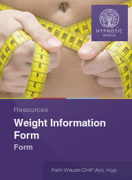 Weight Information Form