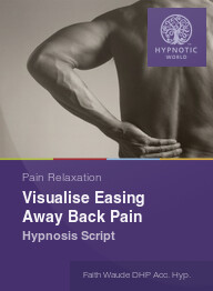 Visualize Easing Away Back Pain
