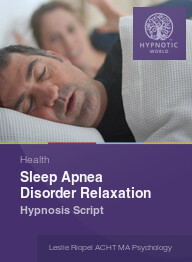Sleep Apnea Disorder Relaxation