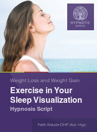 Exercise in Your Sleep Visualization