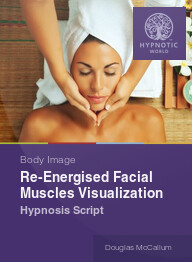 Re-energized Facial Muscles Visualization