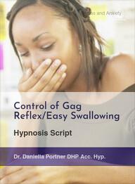 Control of Gag Reflex/Easy Swallowing