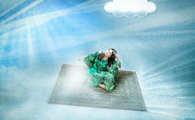 Flying blanket