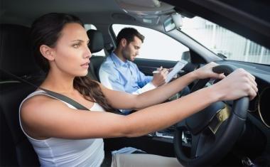 Nervous driver