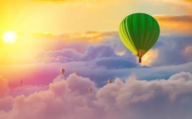 Stress-free balloon journey