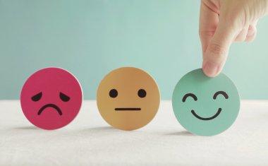 Negativity to positivity