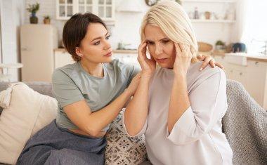 Worried family members