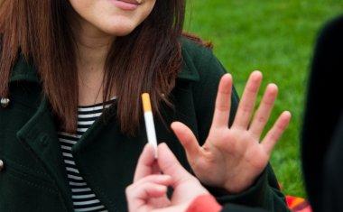 Stop smoking socially