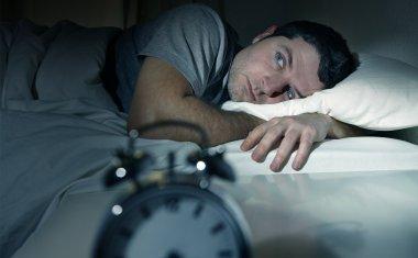 Man awake
